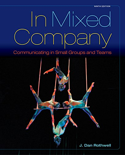 9781305524996: Bundle: In Mixed Company: Communicating in Small Groups, 9th + MindTap Speech, 1 term (6 months) Access Code
