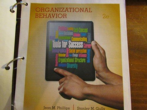 9781305528475: Organizationl Behavior Tools for Success 2e Bundle Epack