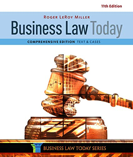 9781305575011: Business Law Today, Comprehensive