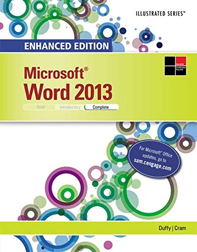 9781305575363: Enhanced Microsoft Word 2013: Illustrated Complete (Microsoft Office 2013 Enhanced Editions)
