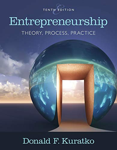 9781305576247: Entrepreneurship: Theory, Process, and Practice