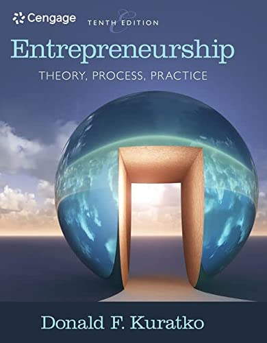 9781305576247: Entrepreneurship: Theory, Process, and Practice (MindTap Course List)