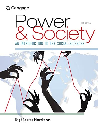 9781305576728: Power and Society: An Introduction to the Social Sciences