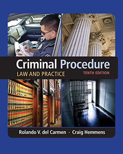 9781305577367: Criminal Procedure: Law and Practice
