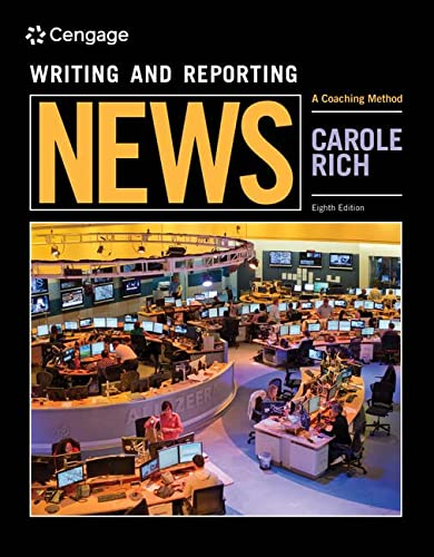 9781305577428: Student Workbook for Rich's Writing and Reporting News: A Coaching Method, 8th