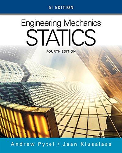 9781305577435: Engineering Mechanics: Statics, SI Edition