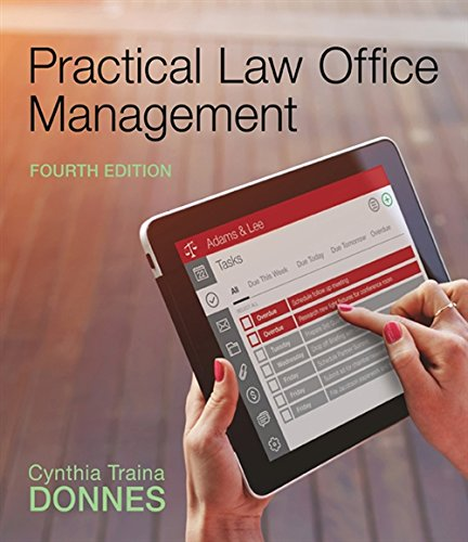 9781305577923: Practical Law Office Management