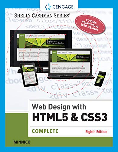 9781305578173: Web Design with HTML & CSS3: Complete (Shelly Cashman Series)