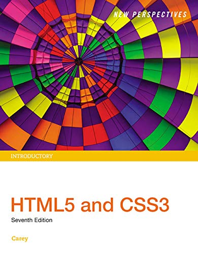 9781305578203: New Perspectives HTML5 and CSS3: Introductory