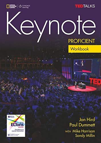 9781305578357: Keynote Proficient C2 Workbook +CD [Lingua inglese]: Workbook + Audio-CD