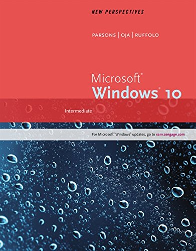 9781305579392: New Perspectives Microsoft Windows 10: Intermediate