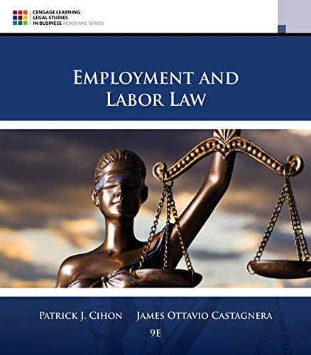 9781305580015: Employment and Labor Law