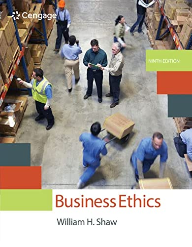 9781305582088: Business Ethics: A Textbook with Cases
