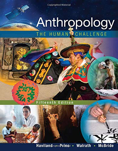 9781305583696: Anthropology: The Human Challenge