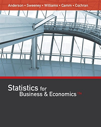 9781305585317: Statistics for Business & Economics (with XLSTAT Education Edition Printed Access Card)