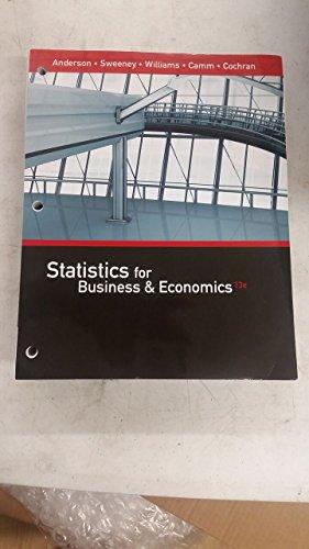 9781305585744: Statistics for Business & Economics, Loose-leaf Version