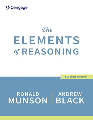 9781305585935: The Elements of Reasoning