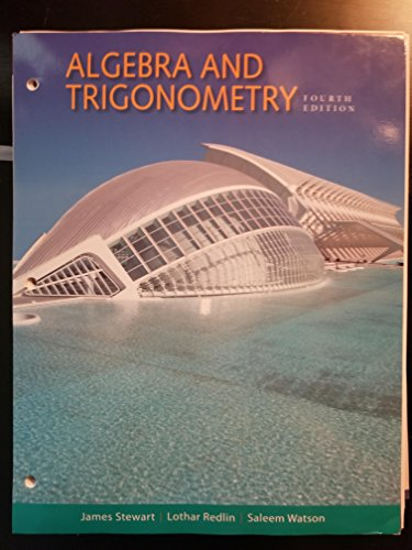 9781305586048: ALGEBRA+TRIGONOMETRY (LOOSELEAF)