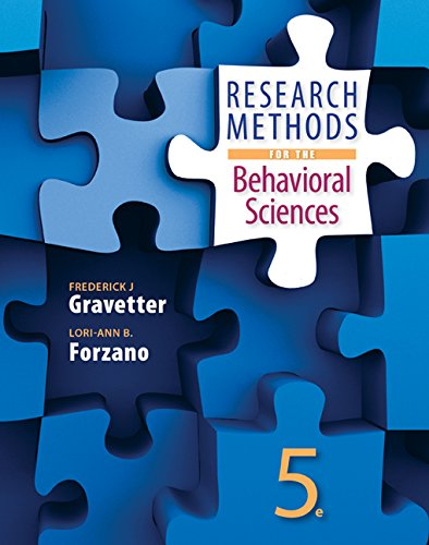 9781305591400: Bundle: Research Methods for the Behavioral Sciences, 5th + MindTap Psychology, 1 term (6 months) Printed Access Card