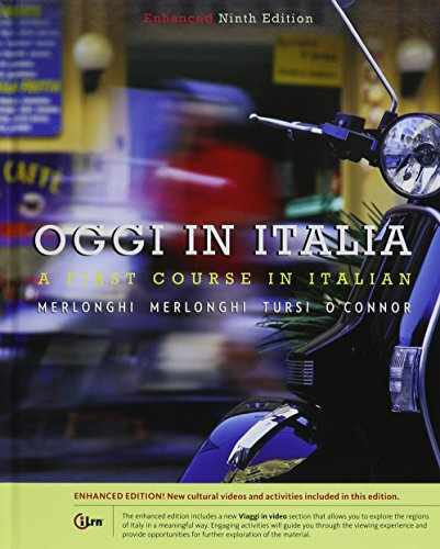 9781305596146: Bundle: Oggi In Italia, Enhanced, 9th + iLrn™ Heinle Learning Center, 4 terms (24 months)Printed Access Card