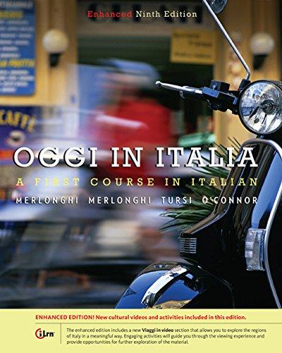 9781305596184: Bundle: Oggi In Italia, Enhanced, 9th + Student Activities Manual + Premium Web Site, 3 terms (18 months) Printed Access Card