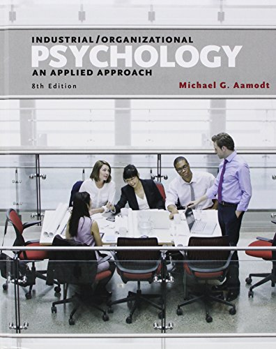 9781305598416: Bundle: Industrial/Organizational Psychology: An Applied Approach + I/O Applications Workbook
