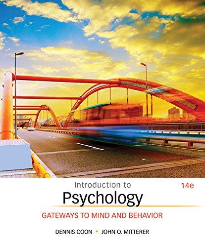 9781305599079: Bundle: Introduction to Psychology: Gateways to Mind and Behavior, 14th + MindTap Psychology, 1 term (6 months) Access Code