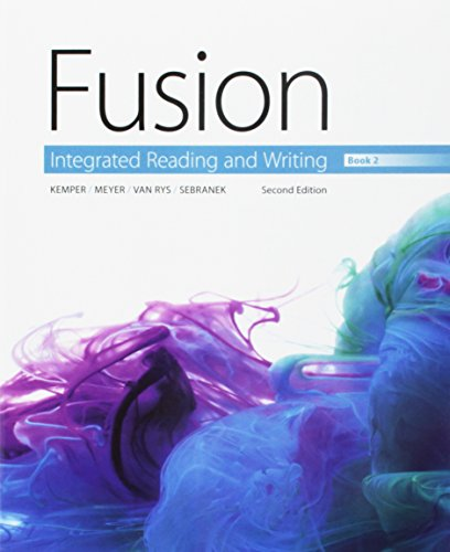 9781305606449: Bundle: Fusion: Integrated Reading and Writing, Book 2 + Aplia, 1 term Printed Access Card