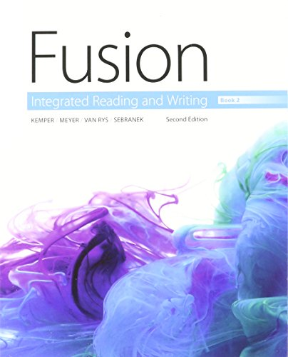 9781305606456: Bundle: Fusion: Integrated Reading and Writing, Book 2 + LMS Integrated for Aplia, 1 term Printed Access Card