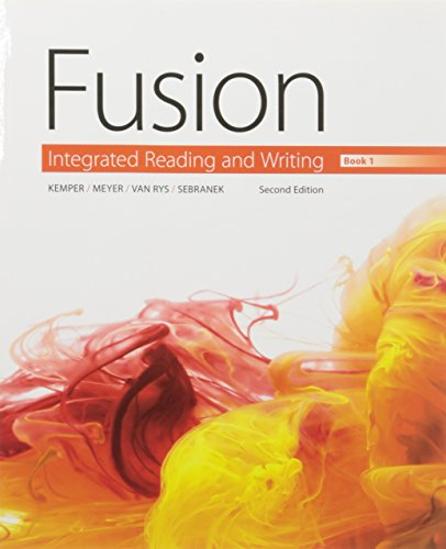9781305606463: Bundle: Fusion: Integrated Reading and Writing, Book 1 + Aplia, 1 term Printed Access Card