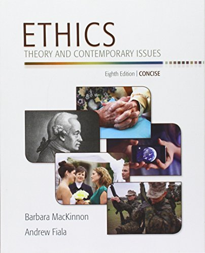 9781305607491: Bundle: Ethics: Theory and Contemporary Issues, Concise Edition + MindTap Philosophy Printed Access Card