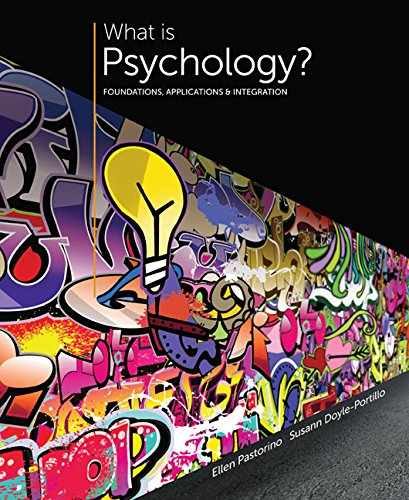 9781305607576: Bundle: What is Psychology? Foundations, Applications, and Integration, 3rd + MindTap Psychology, 1 term (6 months) Access Code