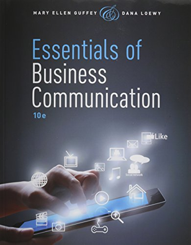 9781305608825: Bundle: Essentials of Business Communication (with Premium Website Printed Access Card) + LMS Integrated for MindTap Business Communication, 1 term (6 months) Printed Access Card