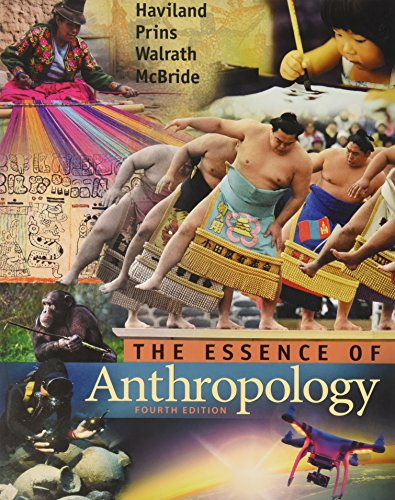 9781305609822: Bundle: Essence of Anthropology + CourseMate Access Code