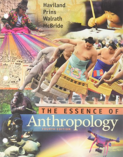 9781305609839: Bundle: Essence of Anthropology + CourseMate Printed Access Card
