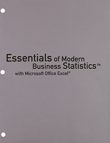 9781305617209: Bundle: Essentials of Modern Business Statistics with Microsoft Excel, Loose-leaf Version, 6th + CengageNOW™, 1 term (6 months) Printed Access Card