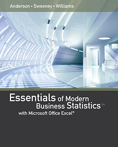 9781305617223: Bundle: Essentials of Modern Business Statistics with Microsoft Excel, Loose-leaf Version, 6th + MindTap Business Statistics, 1 term (6 months) Printed Access Card