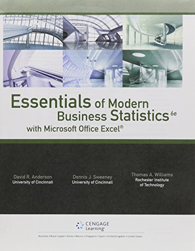 9781305617247: Bundle: Essentials of Modern Business Statistics with Microsoft Excel, 6th + Aplia, 1 term Printed Access Card