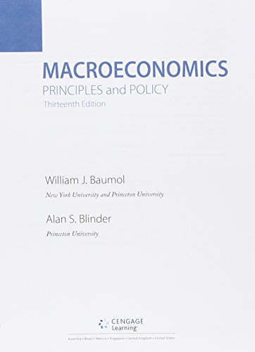 macroeconomics principles and policy 12th edition pdf