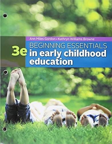 9781305619579: Bundle: Beginning Essentials in Early Childhood Education, Loose-leaf Version, 3rd + MindTap Education, 1 term (6 months) Printed Access Card