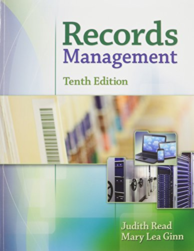 9781305621244: Bundle: Records Management, 10th + MindTap Office Management,1 term (6 months) Printed Access Card + Records Management Simulation