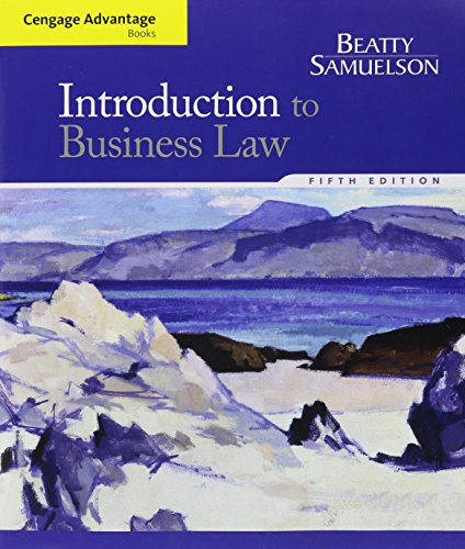 9781305622845: Bundle: Cengage Advantage Books: Introduction to Business Law, 5th + MindTap Business Law, 1 term (6 months) Access Code