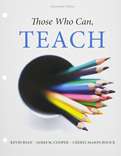 9781305622913: Bundle: Those Who Can, Teach, Loose-leaf Version, 14th + MindTap Education, 1 term (6 months) Printed Access Card
