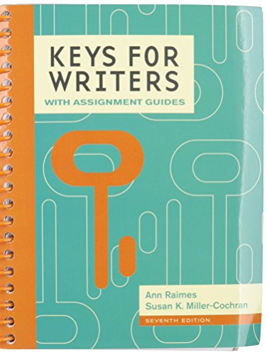 9781305626850: Bundle: Keys for Writers with Assignment Guides, 7th + MindTap English Printed Access Card