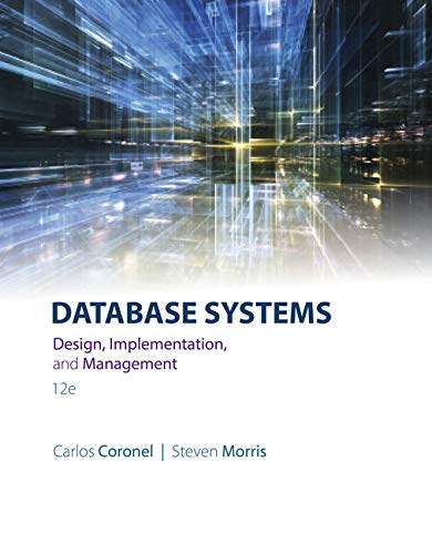 Database Systems: Design, Implementation, & Management: Coronel, Carlos