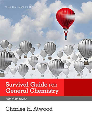 9781305629561: Survival Guide for General Chemistry with Math Review and Proficiency Questions: How to Get an A