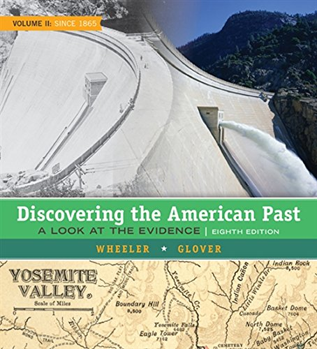 9781305630437: 2: Discovering the American Past: A Look at the Evidence, Volume II: Since 1865