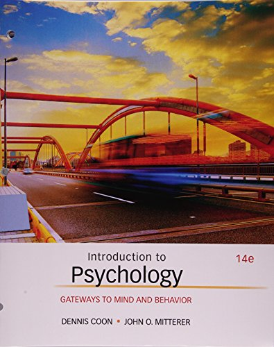 9781305630536: Introduction to Psychology: Gateways to Mind and Behavior