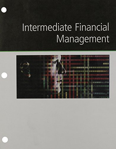 9781305631557: Intermediate Financial Management, Loose-Leaf