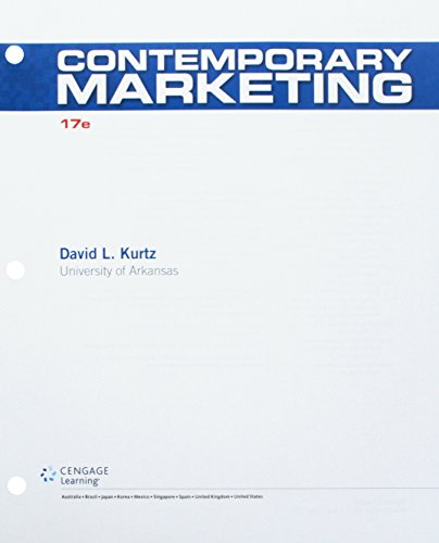 9781305631847: Contemporary Marketing, Loose-Leaf Version